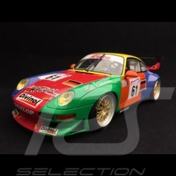 Porsche 911 GT2 type 993 Krauss Race Sports n° 61 Arlequin Le Mans 1998 1/18 GT Spirit GT754