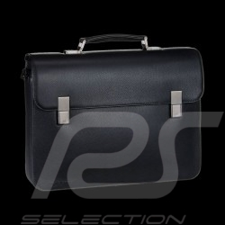 Porsche bag Briefbag black leather Cervo 2.0 FM Porsche Design 4090000459