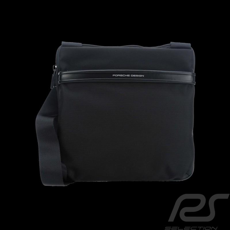 Sac Porsche Sacoche mince à bandoulière nylon noir Lane XSVZ Porsche Design 4090002572 shoulder bag Umhängetasche