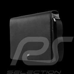 Porsche bag Laptop / Messenger shoulder bag black leather French Classic 3.0 Porsche Design 4090001527