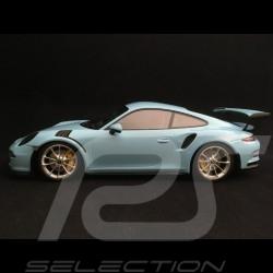 Porsche 911 GT3 RS type 991 phase 1 2015 bleu Gulf 1/18 Minichamps 153066235