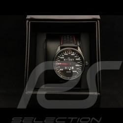 Montre Watch Uhr Porsche 911 300 km/h compteur de vitesse speedometer Tachometer boitier noir / fond noir