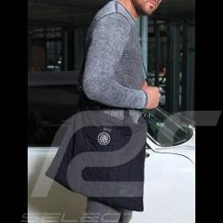 Gentleman Driver Club helmet bag navy blue quilted fabric