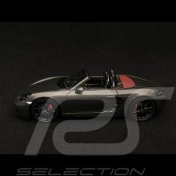 Porsche 718 Boxster GTS type 982 2018 quartz grey 1/43 Spark S7619