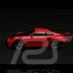 Porsche 911 GT2 RS type 991 rouge indien / noir 1/43 Spark S7623 guards red indischrot