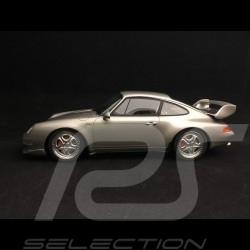 Porsche 911 type 993 Carrera RS Club Sport 1996 arctic silver 1/18 GT Spirit GT739