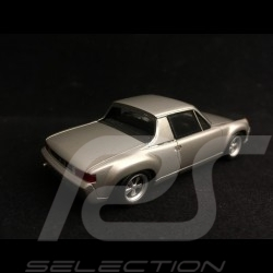 Porsche 916 1972 gris argent 1/43 Spark S7615 silveer grey silbergrau