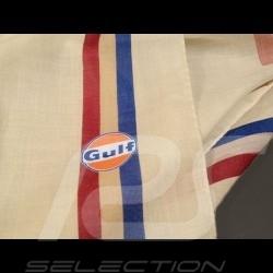 Echarpe Gulf Vintage beige crème Scarf Schal