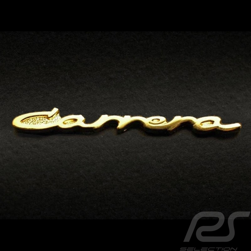 Pin Porsche Carrera doré