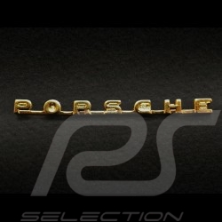 Porsche vintage pin gold MAP08001008