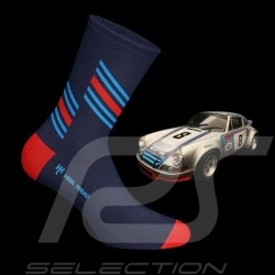 Martini RSR socks blue / red / blue - unisex