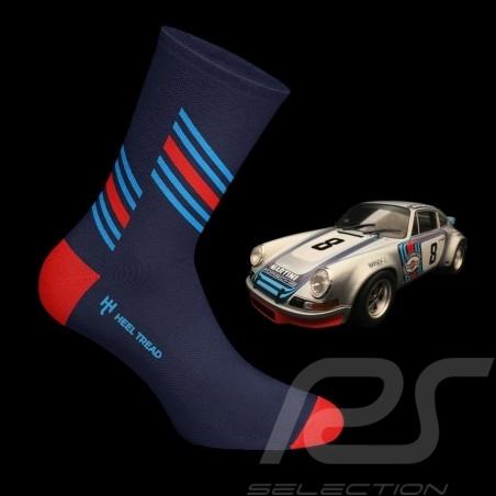 Chaussettes Socks Socken Martini RSR bleu / rouge / bleu - mixte