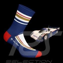 Chaussettes Socks Socken Rothmans 936 bleu / rouge / blanc - mixte