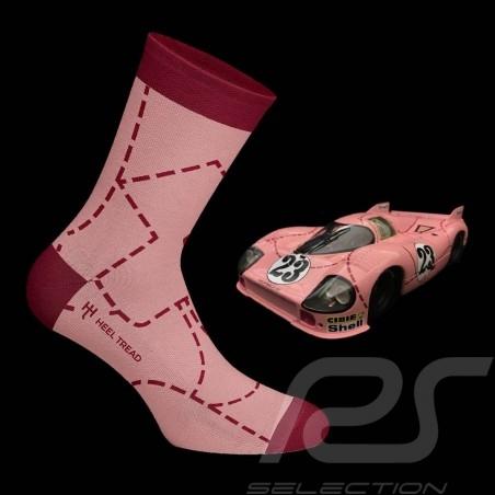 Chaussettes Socks Socken Sau / Cochon rose / Pink Pig 917 rose - mixte