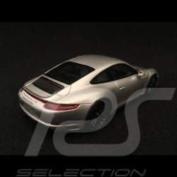 Porsche 911 Carrera 4 GTS type 991 phase II 2017 gris argent 1/43 Spark S7621