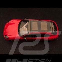 Porsche Panamera 4 e-hybrid Sport Turismo rouge carmin / noir 1/43 Spark S7616