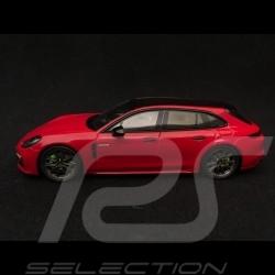 Porsche Panamera 4 e-hybrid Sport Turismo carmine red / black 1/43 Spark S7616
