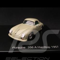 Set Porsche Historique 356 A Coupé / 356 A Hardtop 1957 gris pierre 1/43 Spark HPTRMOD01