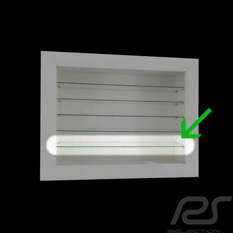 """Etagère / rayon en verre supplémentaire pour vitrine murale """"8 à 60 miniatures"""" glass shelf Glasregal"""