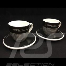 Set de 2 tasses cups tassen expresso Porsche 911 Carrera Edition limitée 2019 Porsche Design WAP0509450K