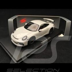 Porsche 911 type 991 GT3 phase II 2017 1/43 Spark S7620 gris craie chalk grey kreide