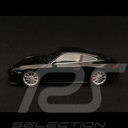 Porsche 911 GT3 type 991 Touring Package 2018 black 1/43 Spark S7625