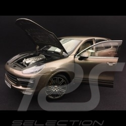 Porsche Cayenne III Turbo S terre d'ombre 1/18 Minichamps WAP0213020F