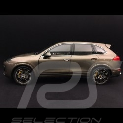 Porsche Cayenne III Turbo S umbra brown 1/18 Minichamps WAP0213020F