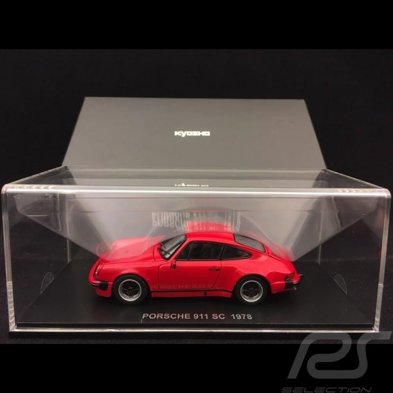 Porsche 911 SC 3.0 1978 rot 1/43 Kyosho 05523R