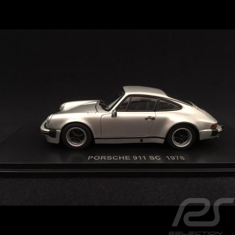 Porsche 911 SC 3.0 1978 argent 1/43 Kyosho 05523S