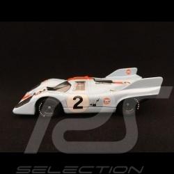 Porsche 917 K Monza 1971 n°2 Gulf 1/43 Brumm R221