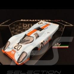 Porsche 917 K Le Mans 1970 n° 20 Gulf 1/43 Brumm R493