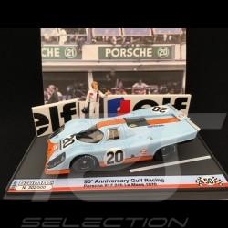 Porsche 917 K Gulf n° 20 Steve McQueen Le Mans 1970 1/43 Brumm S1801