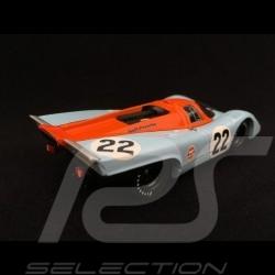Porsche 917 K Le Mans 1970 n°22 Gulf 1/43 Brumm R495