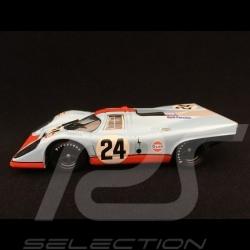 Porsche 917 K 1000 km Spa 1970 n° 24 JWA Gulf 1/43 Brumm R555