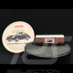 Porsche boxcar DB Gl 11 Porsche 356 50's Special Edition Märklin museum Z 1/220 80030