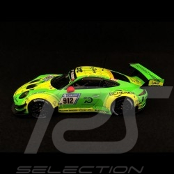 Porsche 911 type 991 GT3 R winner Nürburgring 2018 n° 912 Manthey racing 1/43 Minichamps WAP0209110K
