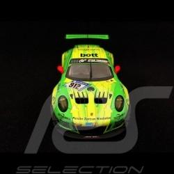 Porsche 911 type 991 GT3 R winner Nürburgring 2018 n° 912 Manthey racing 1/43 Minichamps WAP0209110K