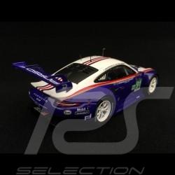 Porsche 911 RSR type 991 24h du Mans 2018 n° 91 Style Rothmans 70 ans Porsche 1/43 Spark S7032