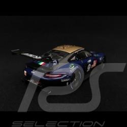 Porsche 911 RSR typ 991 24h du Mans 2018 n° 80 Ebimotors 1/43 Spark S7040