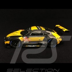 Porsche 911 RSR typ 991 24h du Mans 2018 n° 56 Team Project One 1/43 Spark S7038