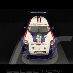 Porsche 911 RSR type 991 24h du Mans 2018 n° 91 Style Rothmans 70 ans Porsche 1/18 Spark WAP0219240K