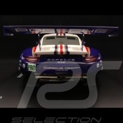 Porsche 911 RSR type 991 24h du Mans 2018 n° 91 Rothmans colors Porsche 70 years 1/18 Spark WAP0219240K