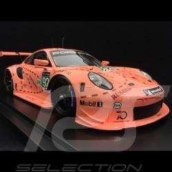 Porsche 911 RSR 991 vainqueur winner sieger 24h Mans 2018 n° 92 Cochon rose Pink Pig Sau 70 ans Porsche 1/18 Spark WAP0219250K