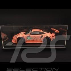 Porsche 911 RSR type 991 vainqueur winner sieger 24h du Mans 2018 n° 92 Cochon rose 70 ans Porsche 1/12 Spark WAP0239250K
