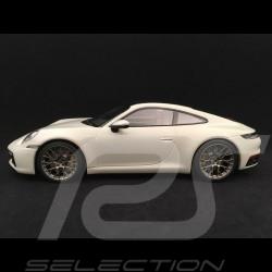 Porsche 911 type 992 Carrera 4S Coupe chalk grey 1/18 Minichamps WAP0211820K