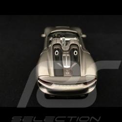 Porsche 918 Spyder 2013 grey 1/43 Minichamps WAP0201000E