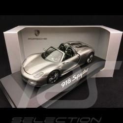 Porsche 918 Spyder 2013 gris 1/43 Minichamps WAP0201000E