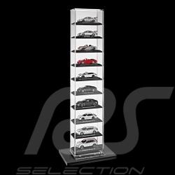 Tour vitrine Porsche pour 10 miniatures 1/43 Porsche Design WAP02077818 showcase stand Acryl Vitrine