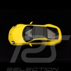 Porsche 911 type 992 Carrera 4S Coupé 2019 Racing yellow 1/43 Minichamps WAP0201720K